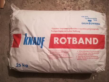 Tynk uniwersalny firmy Knauf 25 kg x 3