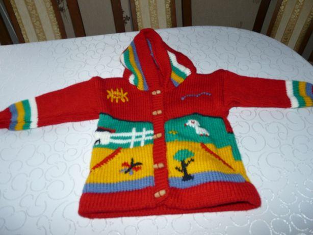 Sprzedam nowy sweter rękodzieło - oryginalny.