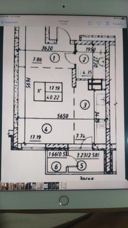 ЖК Навигатор, 3й дом, 40,2м2 хозяйка, Оболонь Куреневка