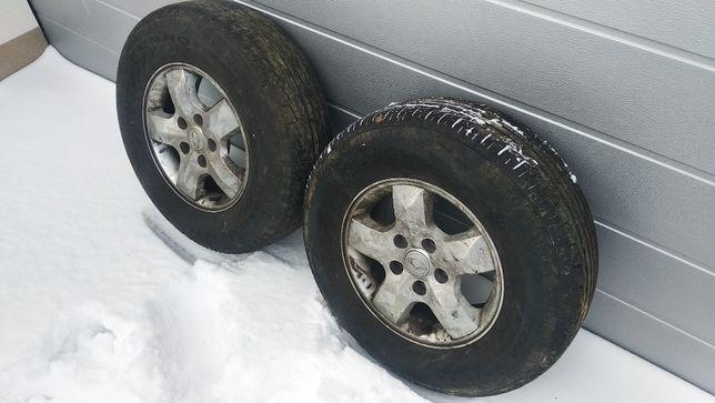Комплект R16 литые диски Kyron шины Kumho Road Venture ST 235/75 108H