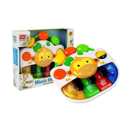 PIERWSZE PIANINKO ORGANKI keyboard dla niemowląt zabawki interaktywne