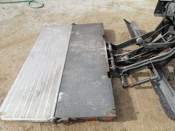Plataforma camião
