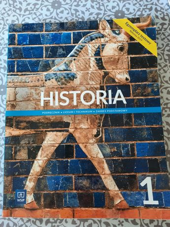 Historia podręcznik liceum i technikum