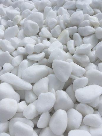 PROMOCJA!!! Grys i otoczak grecki biały Thassos kamień ogrodowy