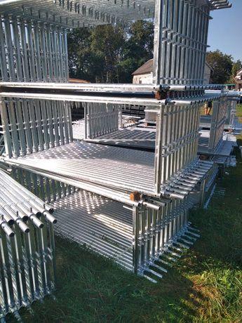 Rusztowania Plettac elewacyjne nowe i urzywane 100 m
