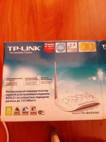Продам Модем Wi-Fi Royter ADSL TP Link TD-W 8951 ND