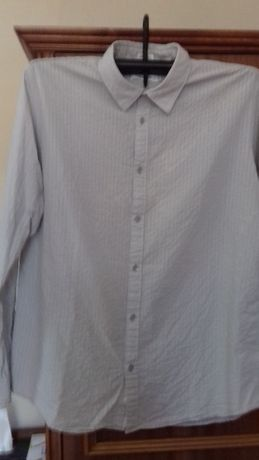Koszula męska długi rękaw Calvin Klein 100% bawełna R. L
