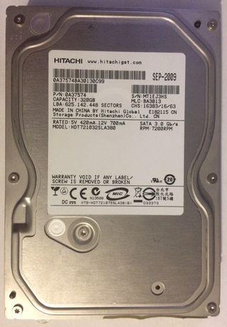 Жесткий диск Hitachi Deskstar 320Gb 7200rpm 8MB SATA II