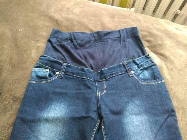 Spodnie ciążowe jeansowe, rozmiar L, stan bardzo dobry