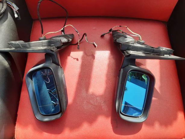 Lusterka elektrycznie składane podgrzewane BMW E46 sedan kombi komplet