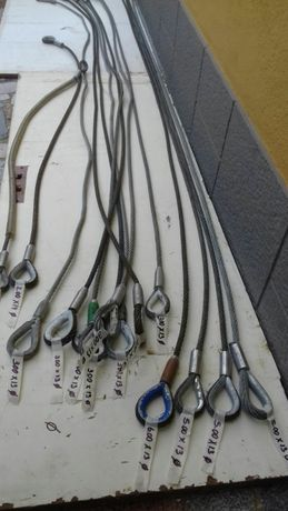 Cabos de aço vários tamanhos/diâmetros