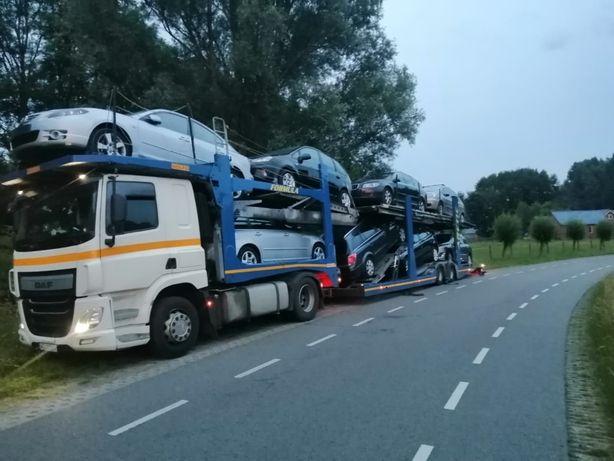 Laweta Transport AUT całau UE - UKRAINA-Polska
