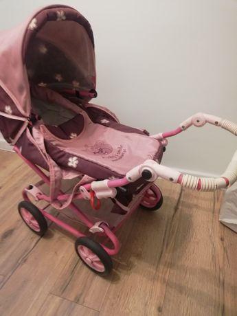 Wózek dla lalek 2w1
