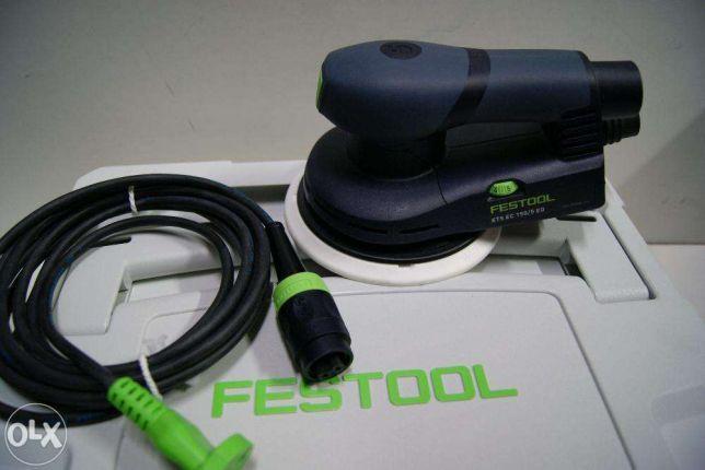 Szlifierka FESTOOL ETS EC 150/3 EQ kabel bez walizka systainer polerka