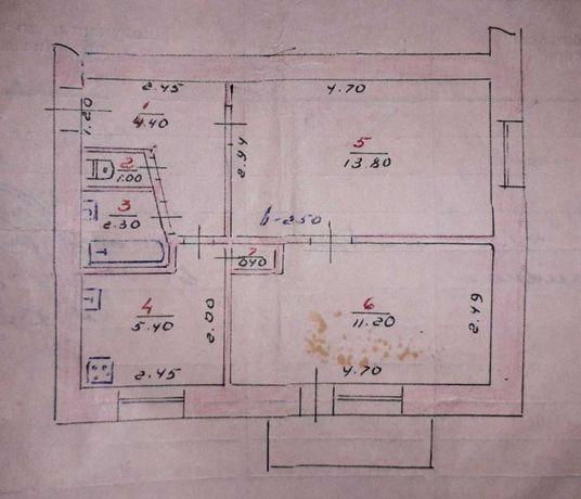 Продаж  2к квартири, 39 кв. м, ЦЕНТР, м.Кам'янець-Подільський