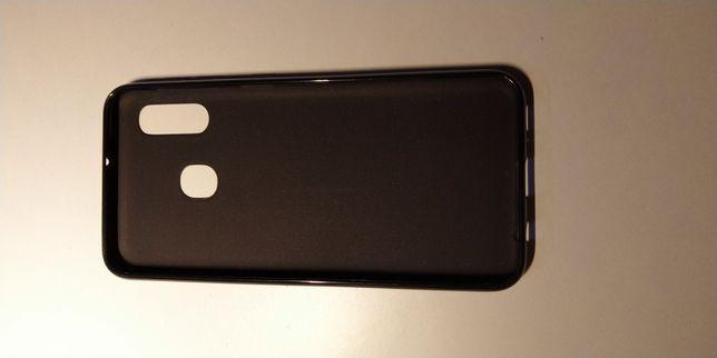 Samsung Galaxy A20 Capa Silicone Preto