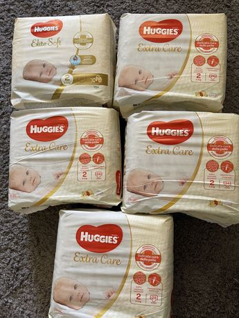 Памперси Huggies Elite Soft/Extra Care