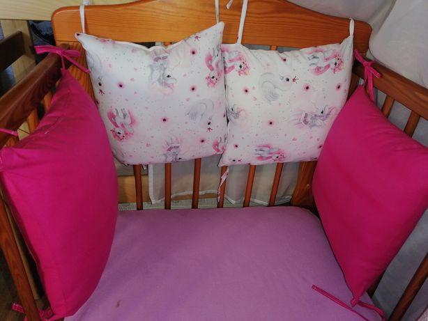 Ochraniacz modułowy gratis kołdra i poduszki