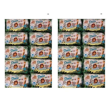 Chusteczki Dada 20 opakowań, wersja ciemnozielonych
