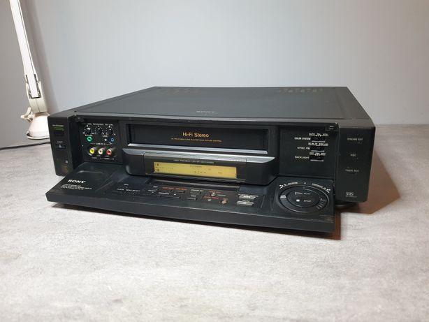 Magnetowid VHS Sony SLV-E90 - Hi-End,4 głowice,super jakość,unikat !