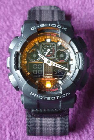 Okazja - Zegarek Casio G-shock GA-100MC-1AER
