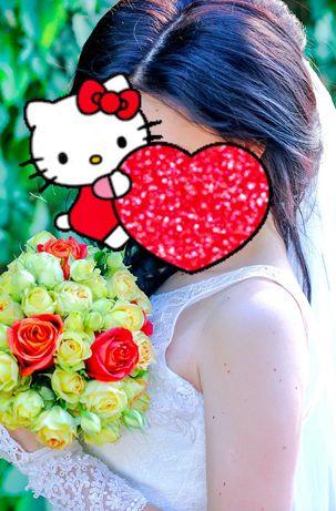 Скидка! 2500₽ Свадебное платье