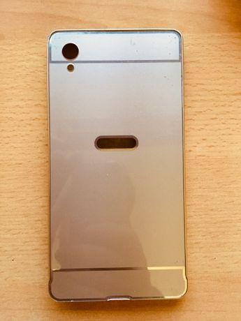 Złote Eleganckie Etui Sony xperia M4 AQUA