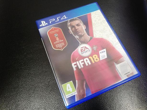 Jogo FIFA 2018 Playstation PS4