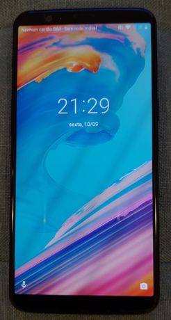 OnePlus 5t 8/128gb, desbloqueado, preto