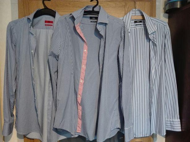 ZESTAW: 3x koszula Hugo Boss