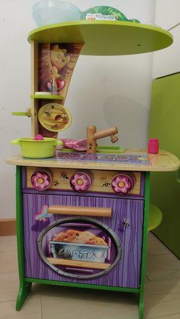 Cozinha de madeira da Disney