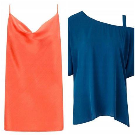 Przecudny topik i bluzeczka w większym rozmiarze