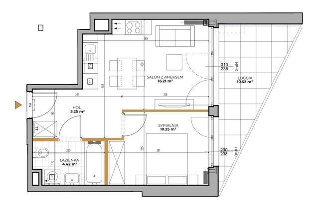 Sprzedam mieszkanie na Gocławiu 37 m2 nowe Horyzont Praga