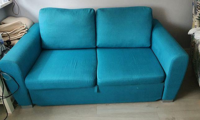 Sofa 2os. z funkcją spania turkus