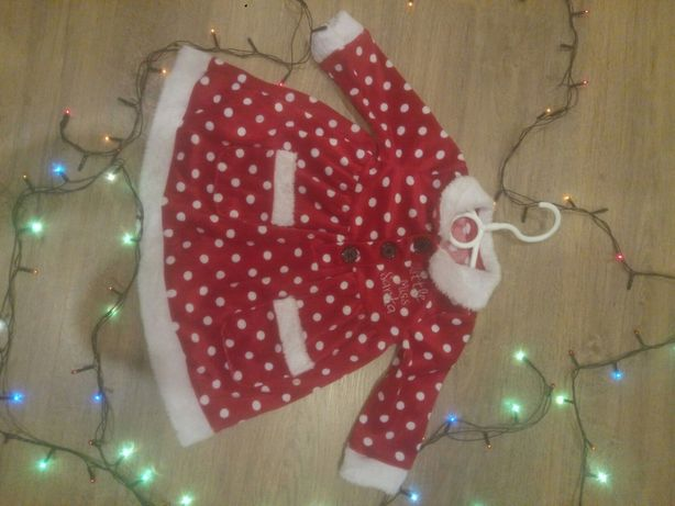Платье на новый год дед мороз костюм наряд 3-5 месяцев