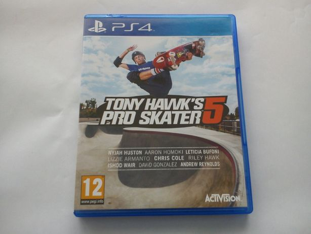 TONY HAWK'S Pro Skater 5 hawk hawks GRA na PS4 PlayStation 4