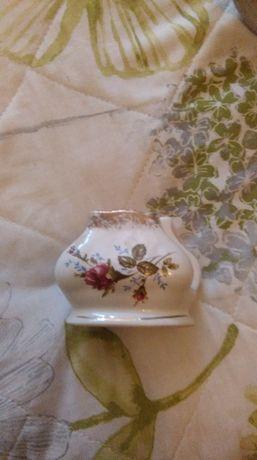 Serwetnik / Porcelana Chodzież Iwona 013 róże i złoto