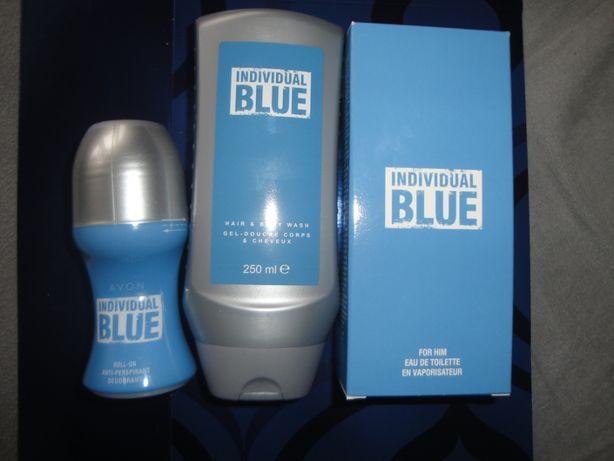 indyvidual blue 100ml w zestawie avon