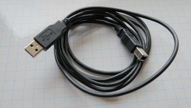 Кабель переходник адаптер PowerPlant USB type A - USB type B