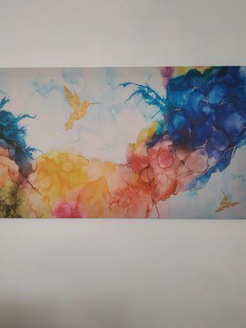 Nowy obraz nowoczesny abstrakcja 120x70