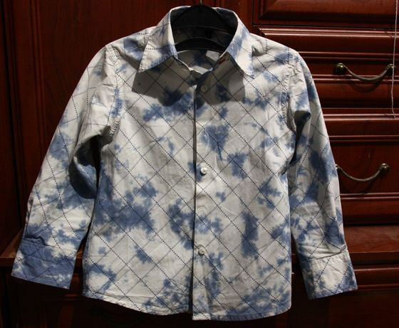 Рубашка мальчик Next 5 лет 110 см
