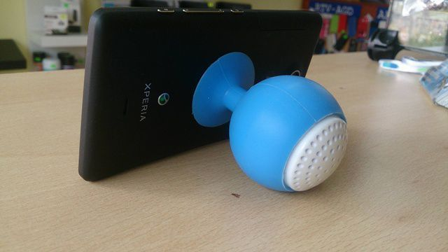 Mini głośnik podstawka do telefonu tableta