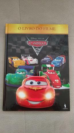 Livro do filme Carros 2