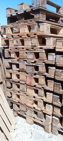 Euro paletes madeira usadas P/mercadorias