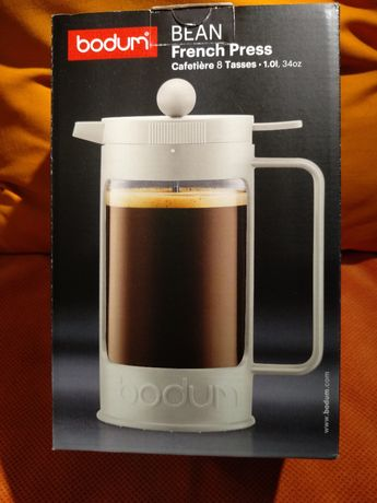 Bodum Bean French Press 1L - dzbanek do parzenia kawy