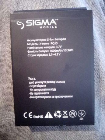 батарея для sigma PQ15
