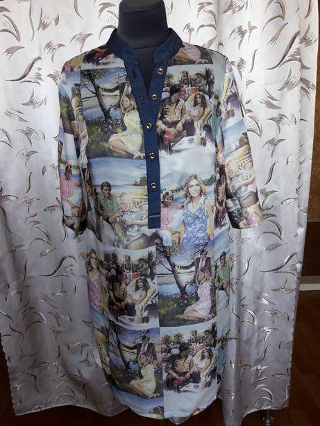 Продам платье- рубашку