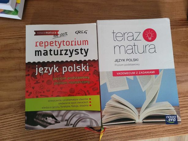 teraz matura vademecum język polski PP + repetytorium gratis PP PR