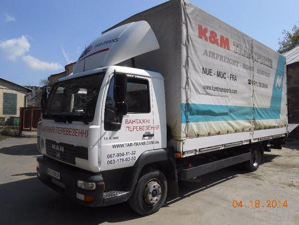 Вантажні перевезення а/м. 3-5-7-10 тон. Гідроборт. Вантажники. Рокла.