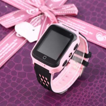 Смарт часы Q528 детские с GPS треккером